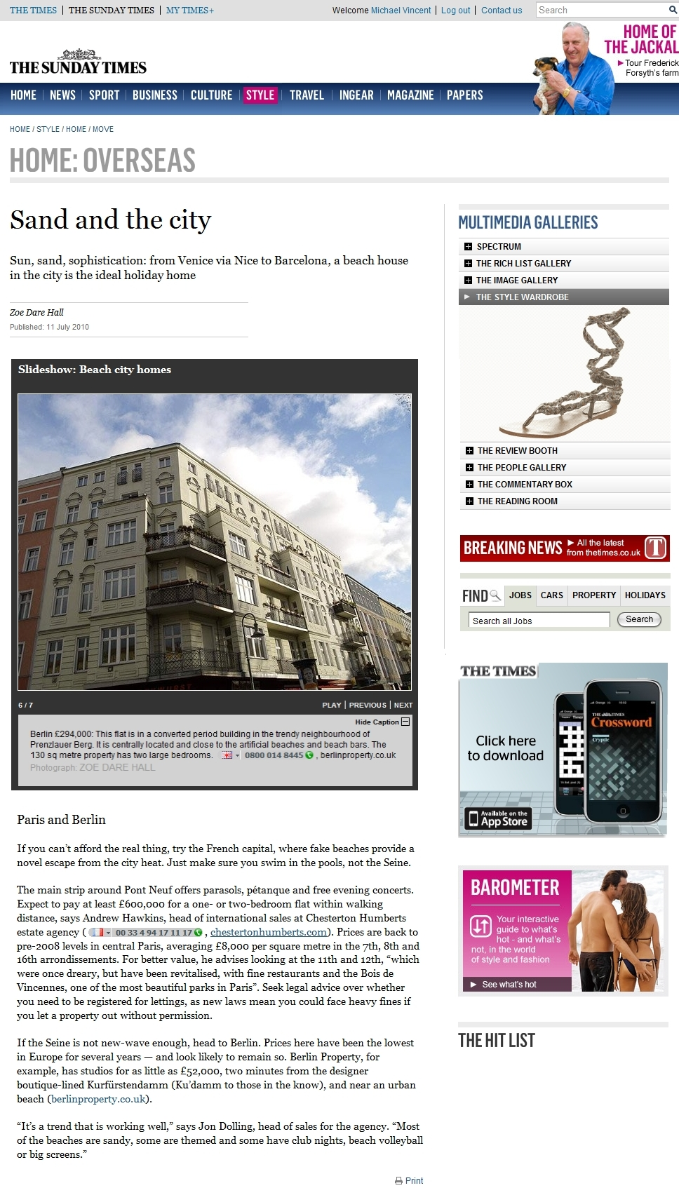 BerlinProperty.co.uk - As Seen In The Sunday Times
